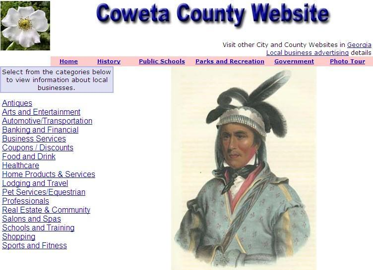 Coweta County Website - CountyWebsite.com
