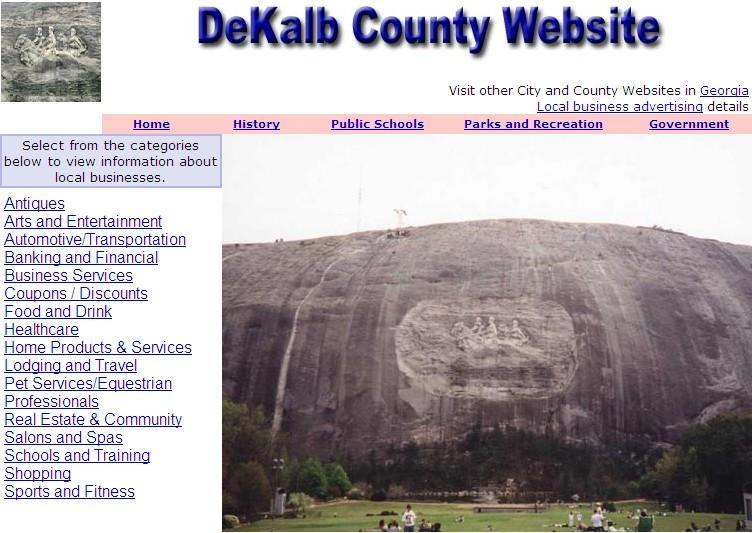 Dekalb County Website - CountyWebsite.com