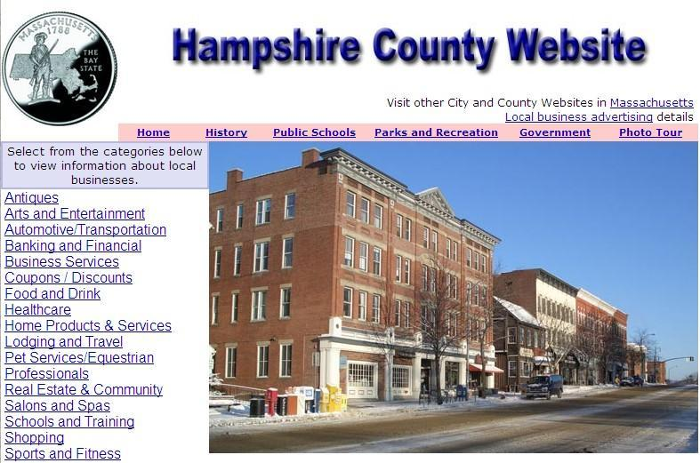 Hampshire County Website - CountyWebsite.com