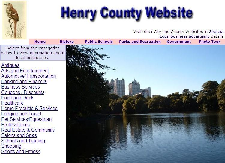 Henry County Website - CountyWebsite.com
