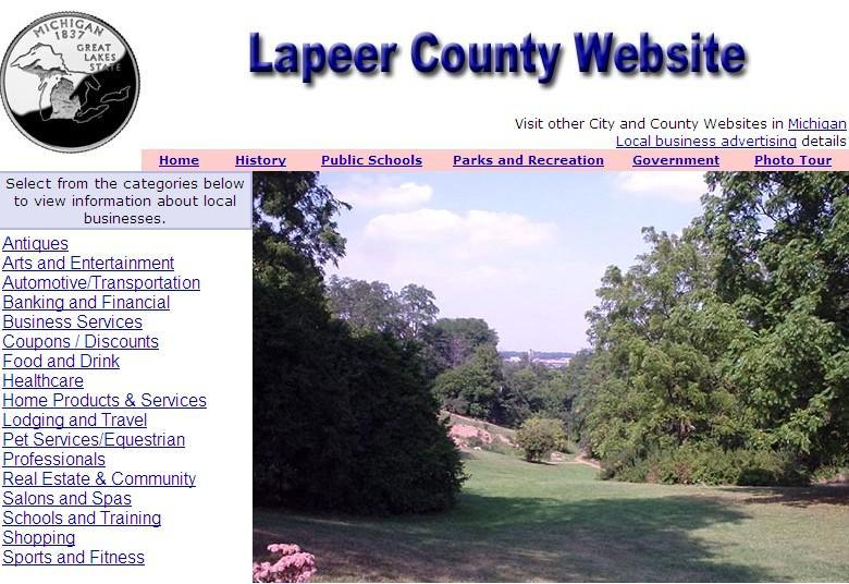 Lapeer County Website - CountyWebsite.com