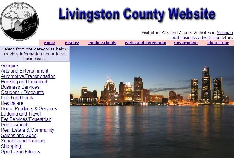 Livingston County Website - CountyWebsite.com