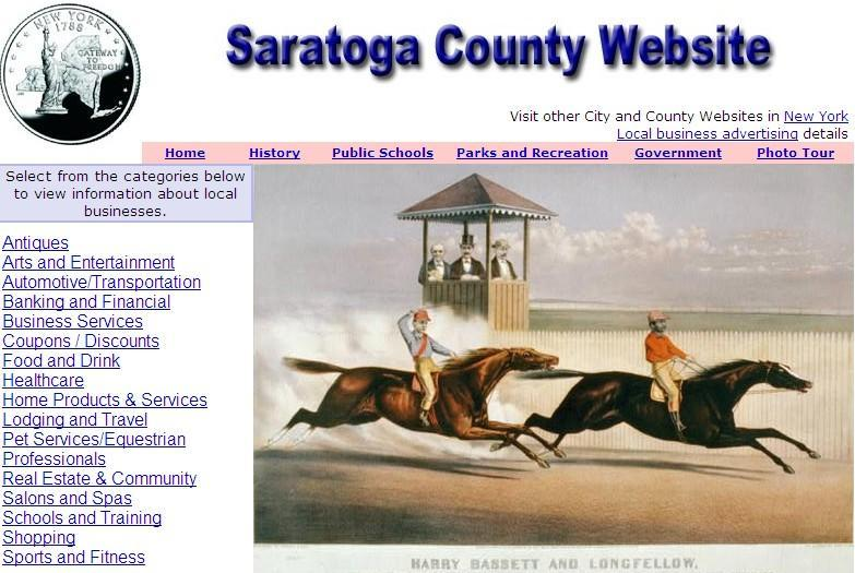 Saratoga County Website - CountyWebsite.com