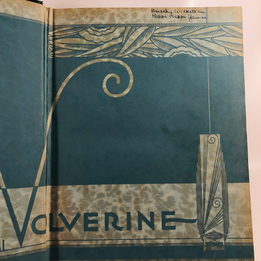 Wolverine Michigan State College Yearbook 1931 East Lansing Michigan Vintage Book