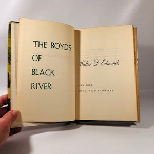The Boyds of the Black River a Family Chronicle by Walter D. Edmonds 1953 A Vintage Historical Fiction Novel