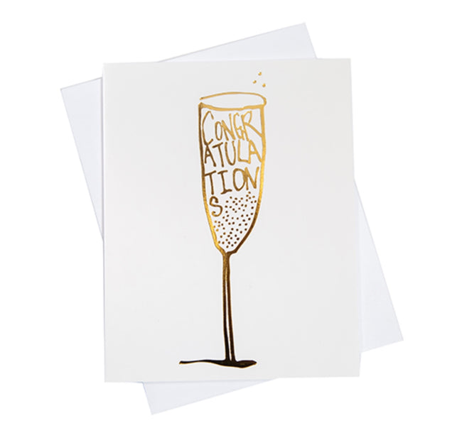 congratulations greeting card. engagement