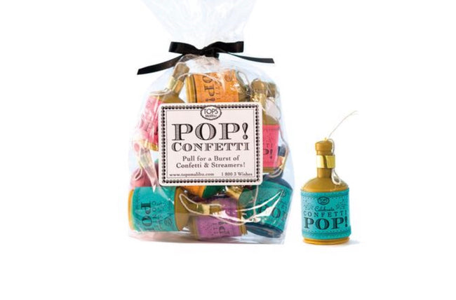 pops confetti for birthday celebrations
