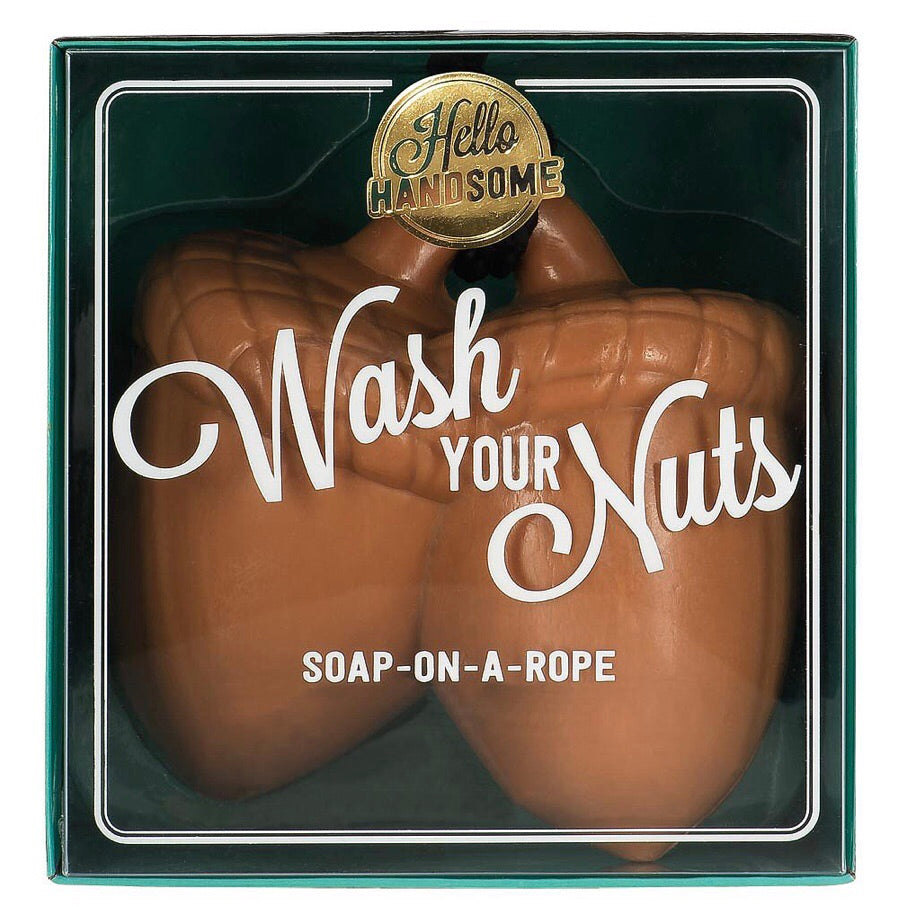 wash your notes soap on a rope