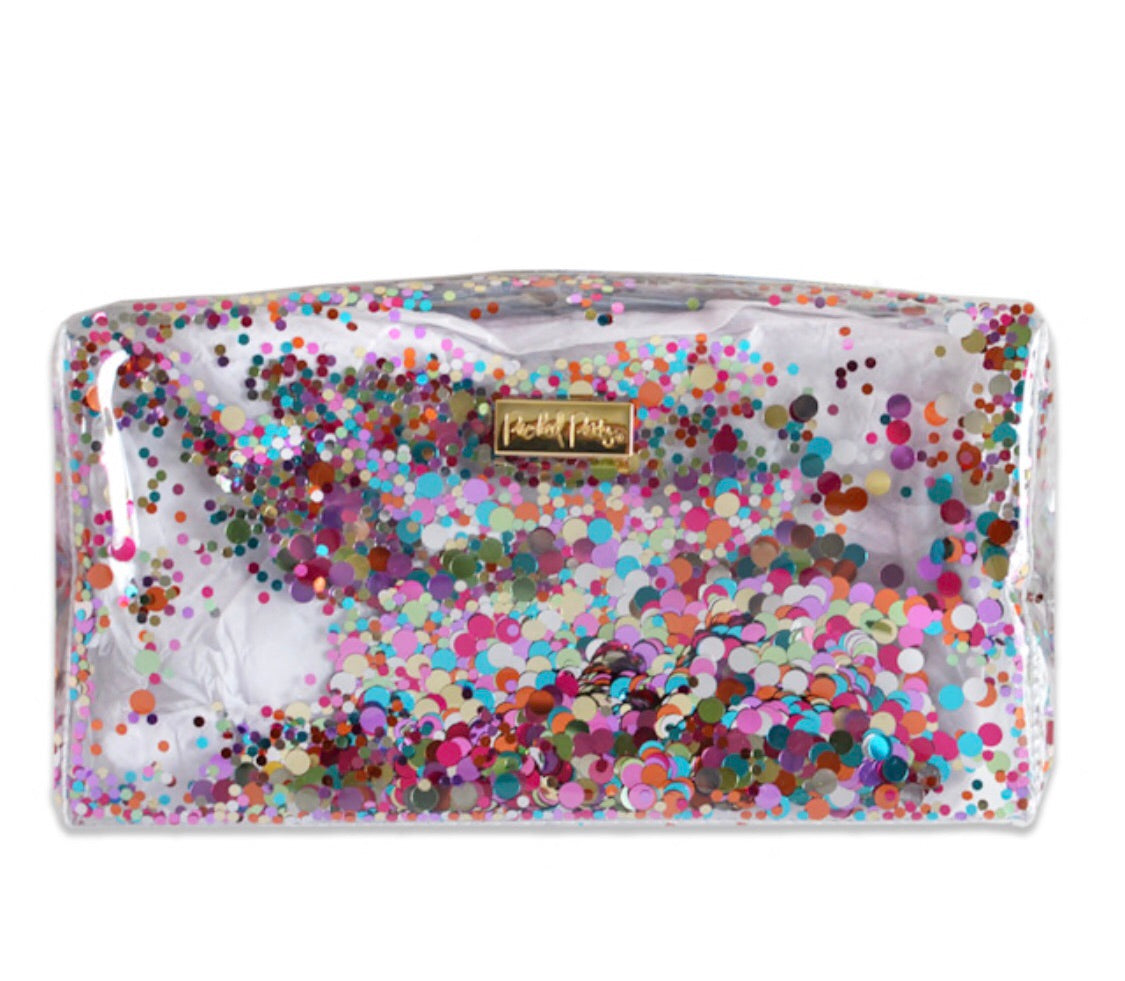 confetti Dopp kit for all of your toiletries