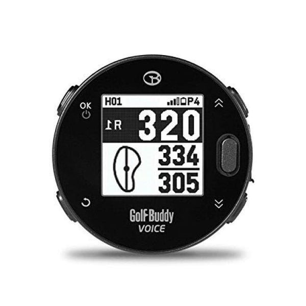 Golfbuddy Voicex Easy-To-Use Smart Talking Golf Gps Black Small - Gps & Rangefinders