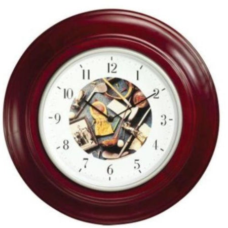 Clubhouse Collection 1261 Golf Motif Quartz Clock - Golf Country Online
