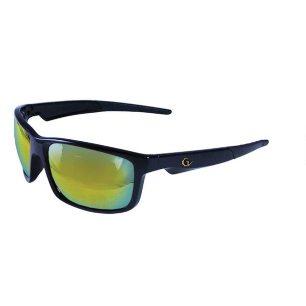 Maxx Sunglass Gold Vision Hd 8 Black Frame Hd Lens - Sunglasses