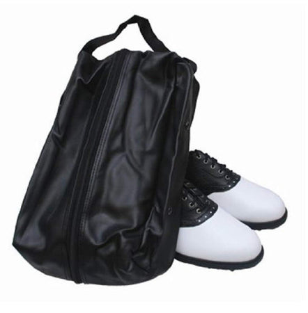 OnCourse Leather Golf Shoe Bag