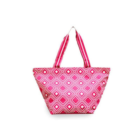 All For Color Large Tote - Pink/White - Golf Country Online