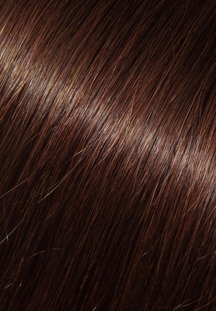 Color Swatch #3R (Darkest Brown with Auburn)