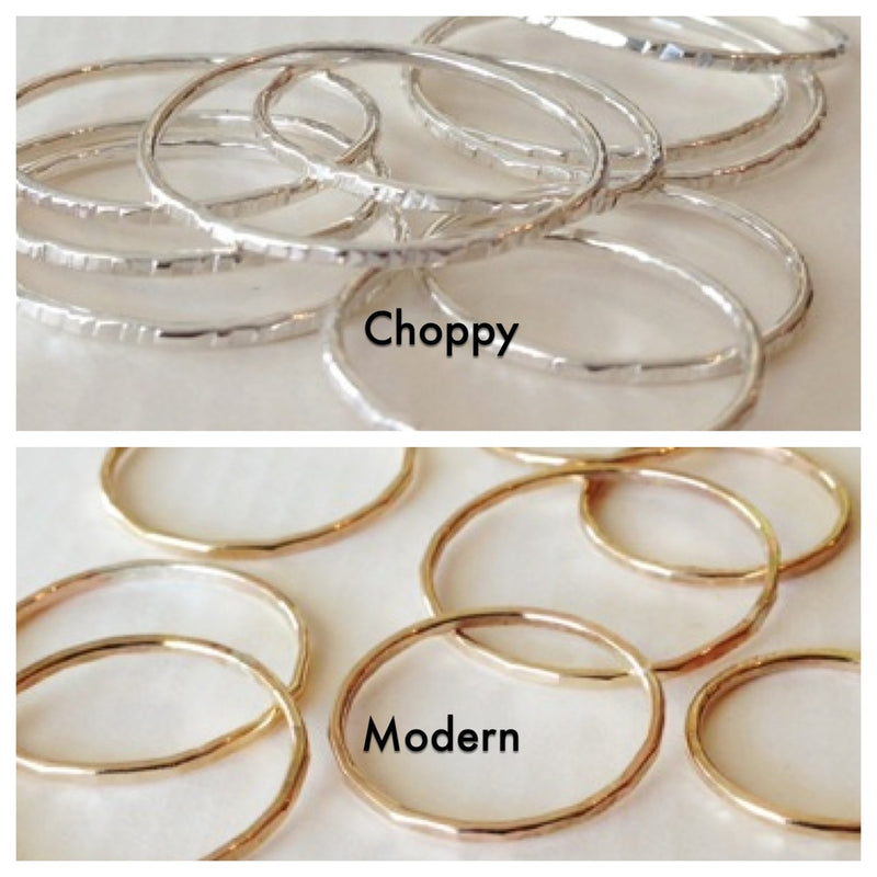 stacking rings textures agapantha jewelry.jpg