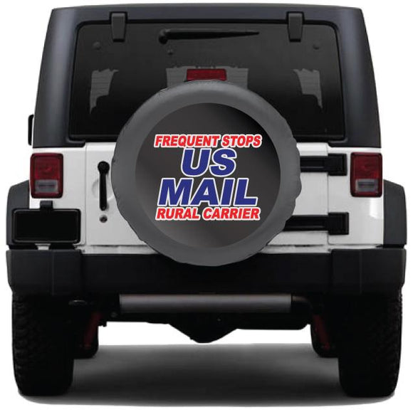 US Postal Service Graphics Kit for Tire Covers & Windows Red,White, & Blue - Wholesale Magnetic Signs