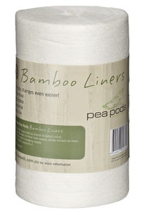 Pea Pods Disposable 100% Bamboo Nappy Liners