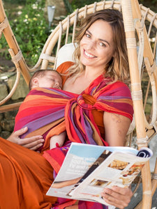 hug.a.bub Baby Carrier Mesh Ring Sling