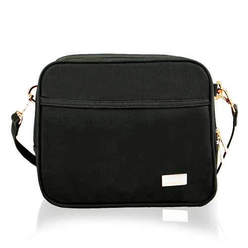 Isoki Finley Crossover Bag - Black