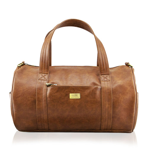Isoki Kingston Duffle Bag - Redwood
