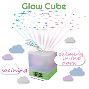 Playette Star Glow Cube Projecting Night Light