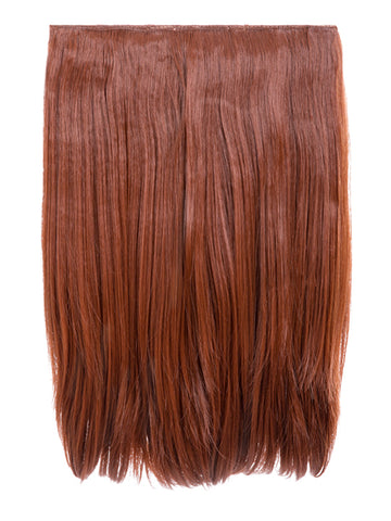 Dolce 1 Weft 18″ Straight Hair Extensions In Copper Red, Prettyrebel.com