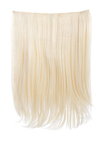 Dolce 1 Weft 18″ Straight Hair Extensions In Pure Blonde, Prettyrebel.com
