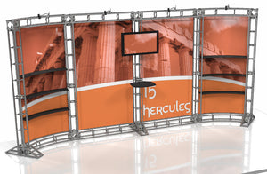 Hercules 10' x 20' Truss Display - Kit 15 - Replacement Graphics Package