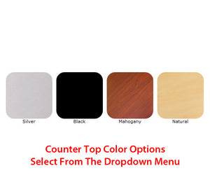 Vector Frame 2 10' x 10' Trade Show Display Kit - Counter Top Color Options