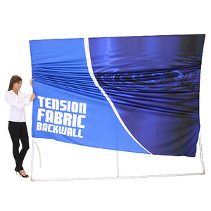 Formulate WV1 10' x 20' Vertical Curved Trade Show Display - Product Assembly-Stage 2