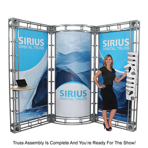 Jupiter Orbital Express 20' x 20' Truss Trade Show Display Booth - Product Assembly 7