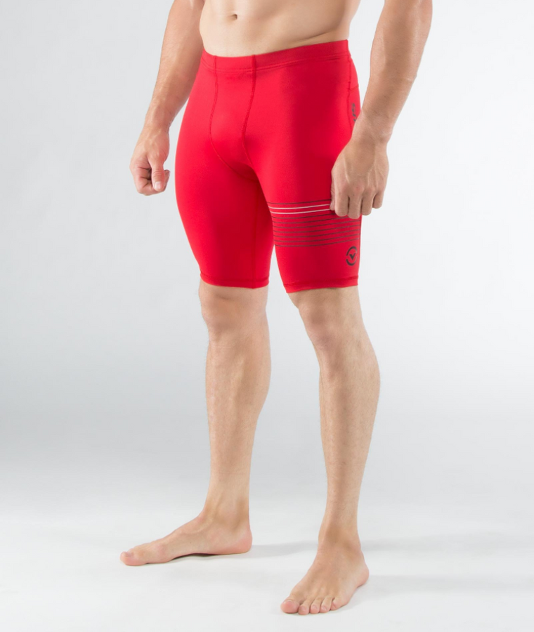 MEN'S STAY COOL COMPRESSION V3 TECH SHORTS (CO23)- RED