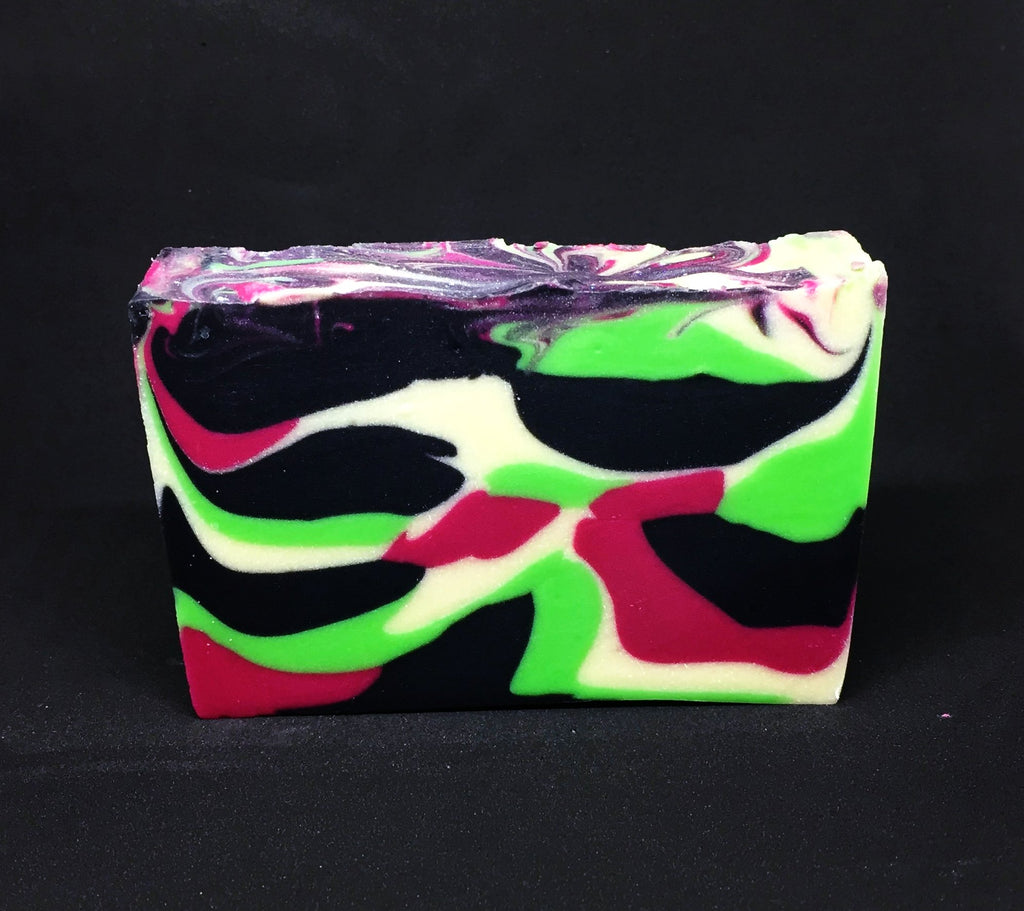 Hot Pink Lime Soap