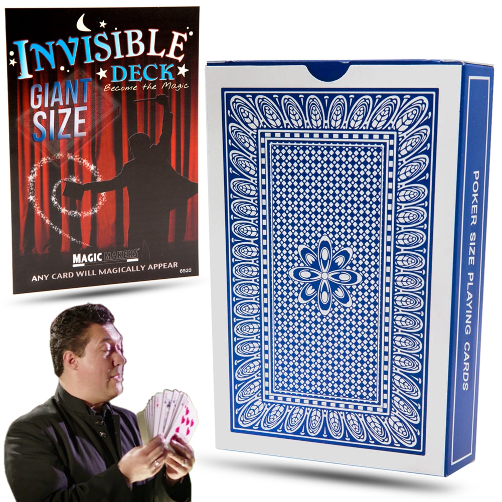 Magic Invisible Trick Deck