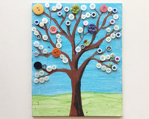 Let's Paint: Button Tree - Reservation