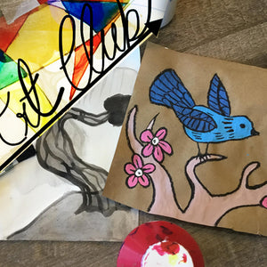 SEPT 12 - OCT 17 (6 Weeks) 6-7pm: Art Club [Ages 5-8]