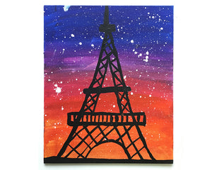 Eiffel Tower Painting - Reservation