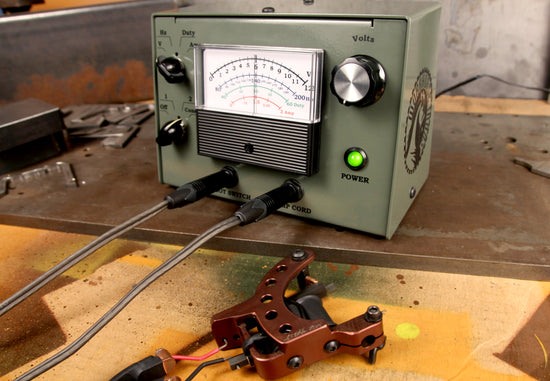 Workhorse Irons Deluxe Metered Power Supply
