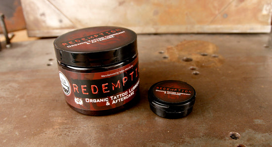 Redemption Tattoo Lubricant and Aftercare