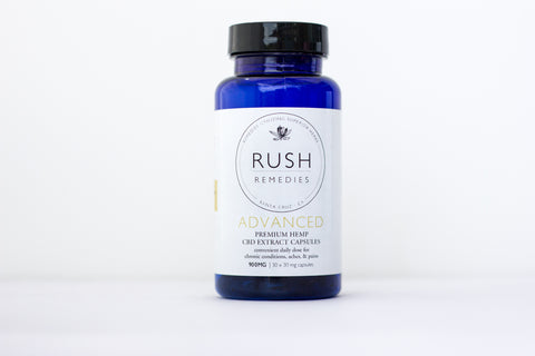 ADVANCED - Premium CBD Hemp Extract Capsules