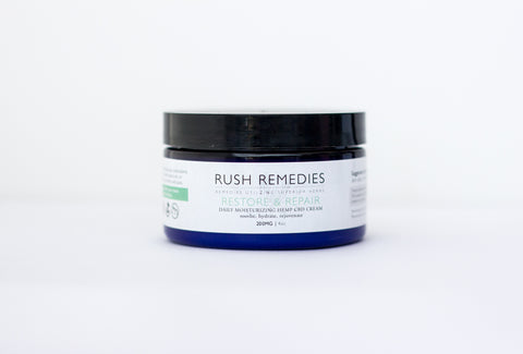 RESTORE & REPAIR - Daily Moisturizing Hemp CBD Cream