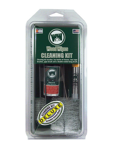 WeedWipes Cleaning Kit