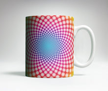 Load image into Gallery viewer, Colorful Spiral Optical Illusion Mug