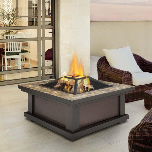 Alderwood Wood Burning Fire Pit - Soothing Company