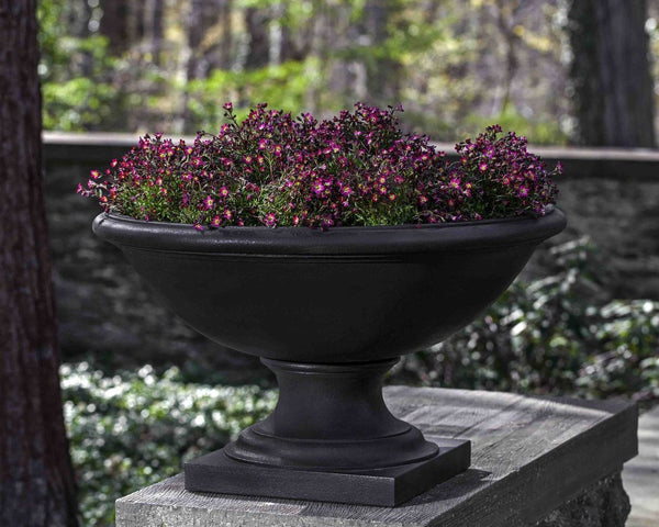 Low Savannah Urn Garden Planter - Soothing Company