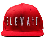 ELEVATE Classic Red Snapback
