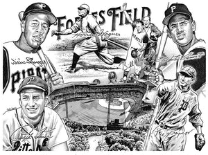 "Forbes Field Stainless Steel Wrap (8""x10"")"