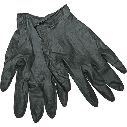 Black Grizzly Nitrile Gloves
