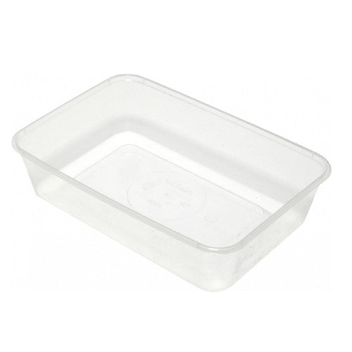Wide Base Rectangular Containers